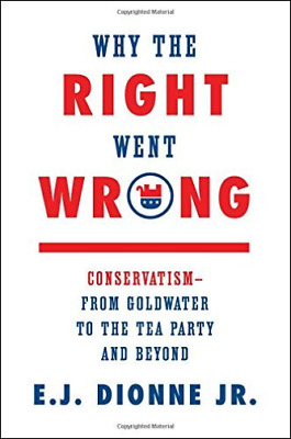 Dionne E. J. Jr.-Why The Right Went Wrong  (US IMPORT)  HBOOK NEW