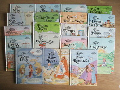 19 x Selection of Alice In Bibleland Storybooks Alice Joyce Davidson
