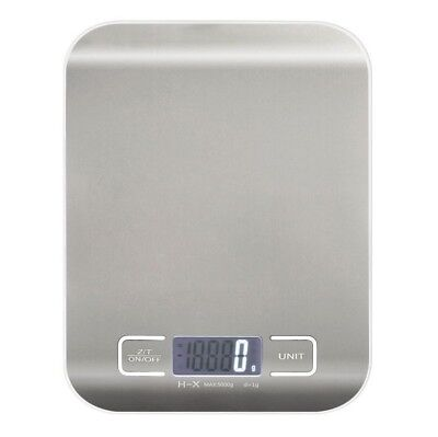 Portable Digital Kitchen Scale Diet Food Postal Mailing 5KG/11LBS x1g Electronic