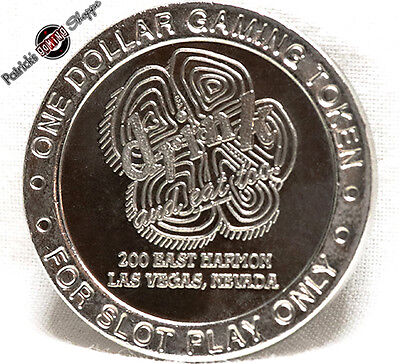 $1 Route Slot Token Coin Drink And Eat Too! Casino 1995 Ct Mint Las Vegas New