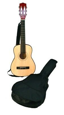 BONTEMPI 75 cm Wooden Guitar with Shoulder Strap and Bag. Shipping Included