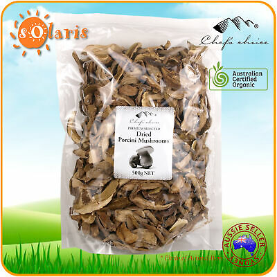 500g Chef's Choice Dried Porcini Forest Mushrooms Premium Selected Quality