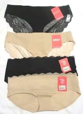 Spanx Undie-Tectable Lace Waist Hipster #FP2215 & Lace Bikini Brief #FP2415