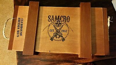 Sons of Anarchy cigar box kg-9 clubhouse edition