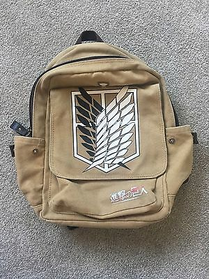 Shingeki No Kyojin (Attack On Titan) School Backpack Bag Anime