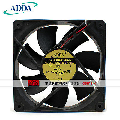 ORIGIANL ADDA AQ1224UB-A71GL 24V 0.25A Water-repellent cooling fan