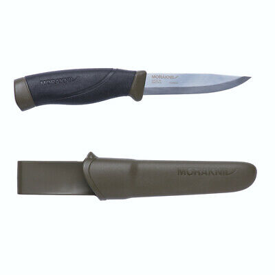 Morakniv Companion Heavy Duty Mg Outdoor Sports Knife + Sheath 12210