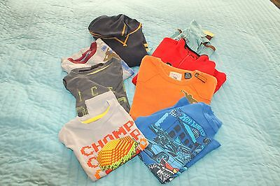 Lot of boys shirts and sweater size 6-7