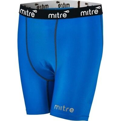Mitre Youth Soccer Compression Short- Royal- SALE