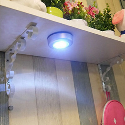 LED Motion Light Activated Sensor Indoor Outdoor Cordless Patio Wall Lamp Safty
