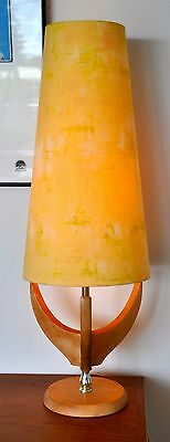 Vintage Mid Century Danish 'AHORN' Table Lamp Retro with new bespoke shade