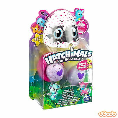 Spin Master 6034164 Hatchimals CollEGGtibles 2er Pack Sammelfiguren + Nest