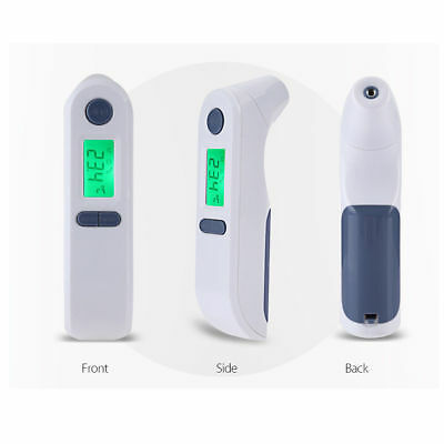 Accurate LCD Digital Infrared Thermometer Ear Forehead for Babies Adult Child