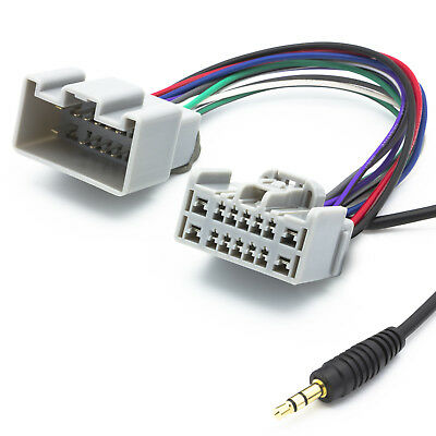 Audio AUX Line In Adapter Kabel Radio 3,5mm Klinken Stecker für Volvo ab Bj 2005