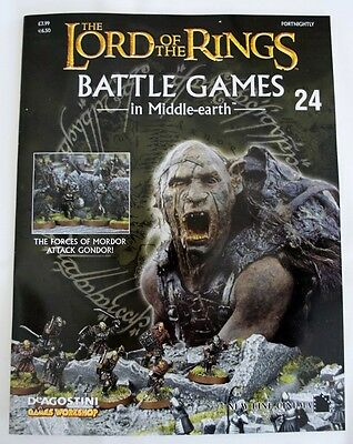 Lord Of The Rings:Battle Games In Middle-Earth–Issue #24 Magazine & miniatures
