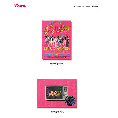 Girls' Generation Snsd  6Th Album - Holiday Night Cd+Photobook+Photocard