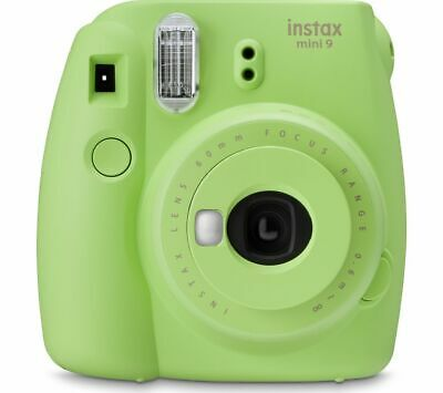 INSTAX mini 9 Instant Camera - Lime Green - Currys