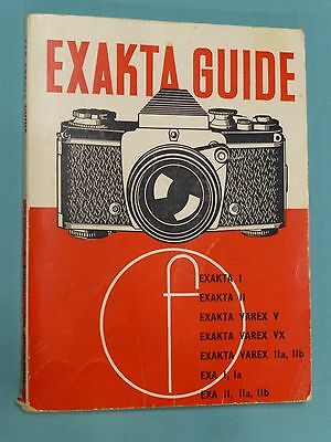 EXAKTA 35mm GUIDE by W.D.Emanuel  - Sixth edition 1966