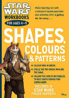 Star Wars Workbooks: Shapes, Colours & Patterns - Ages 4-5: 9781407162904-G051