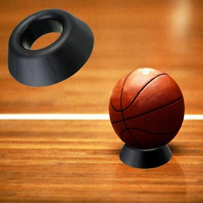 Ball Stand Display Rack Basketball Football Soccer Rugby Support Holder Base New