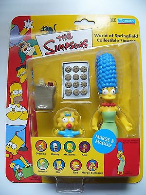 The Simpsons World Of Springfield Marge & Maggie Figure