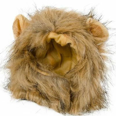 Pet Dress Up Party Costume Cat Lion Mane Wig