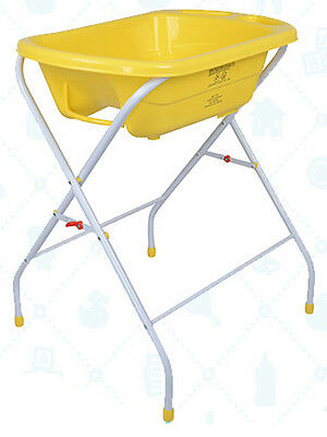 Bebe Style Portable Bath Tub & Stand-Foldable infant wash bather newborn support