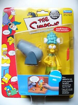 The Simpsons World Of Springfield Sideshow Mel Figure