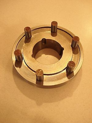 """2 Pieces - Dodge Poly-Disc Coupling Flange 8F - 2517 - 8"""" -  - Two Flanges"""