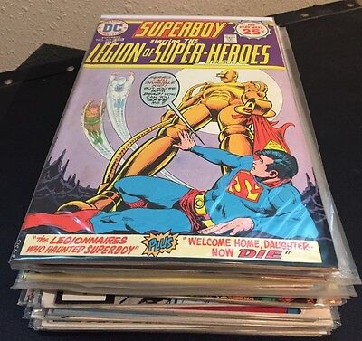 LEGION of SUPER-HEROES DC Comics LOT of 26 Issues ~ from VF to NM #'s in details