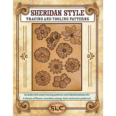 Springfield Leather Company Sheridan Style Toolling Pattern Pack
