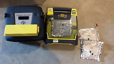 Cardiac Science Powerheart AED G3 with Pads, Case, and New Battery