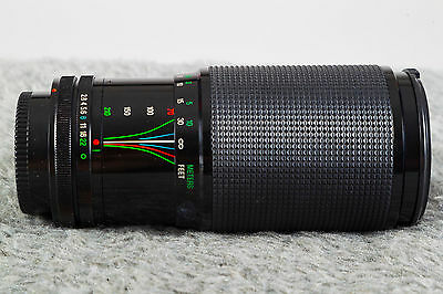 Vivitar 70-210mm Series 1 F2.8-4.0 Komine V3 Version!  For Canon FD Guaranteed!
