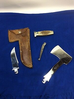 CASE TESTED XX Exchange Blade Hatchet Knife Combo -Axe/Old/Antique/Collection
