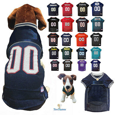 DOG JERSEY PREMIUM NFL Football Team Logo Fan Pet Shirt    XS - BIG ... a4f5bde7a