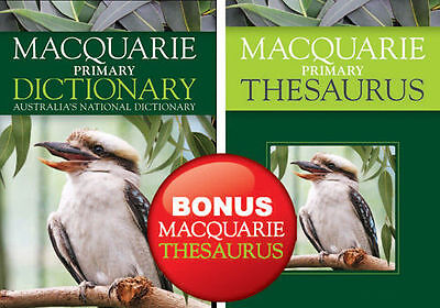 Macquarie Primary Dictionary + Bonus Primary Thesaurus by John Wiley & Sons Aust