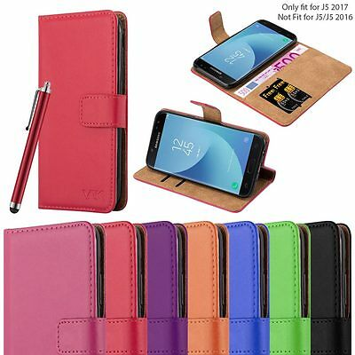 Galaxy J5 2017 Case For Samsung Magnetic Wallet Luxury Flip Cover Card Holder