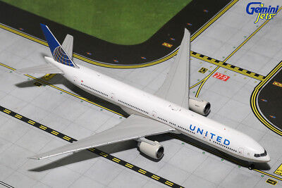 Gemini Jets 1605 1/400 United Airlines Boeing 777-300ER die-cast aircraft