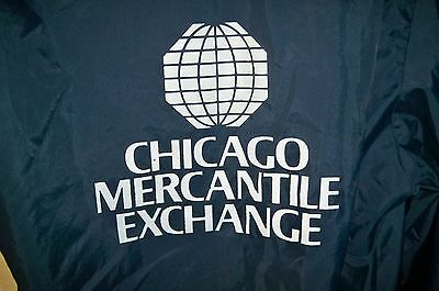 Vintage Chicago Mercantile Exchange lightweight jacket medium