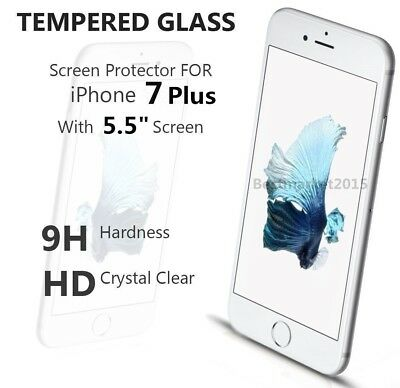 9H Real Tempered Glass Screen Protector for iPhone 7 iPhone 7 Plus iPhone 6s lot