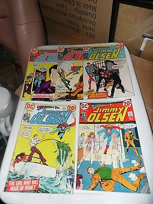 Superman's Pal Jimmy Olsen lot of 5 books #153 #154 #155 #156 and #157