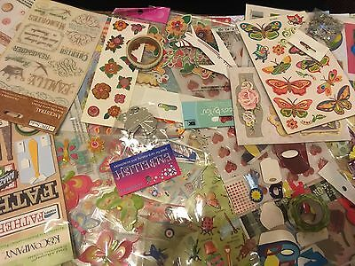 Embellishment Bulk Pack 25 New Packs Jolees Ribbon Flowers Cards/ Scrapbook SAVE