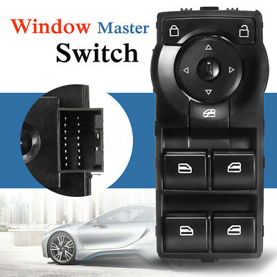 Master Power Window Switch For Holden VE Commodore V6 06-13 Green LED Display