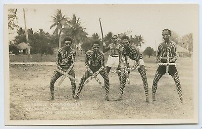C1920's/30's Rp Scarce Postcard Aboriginal Windmill Corroboree N. Queensland L47