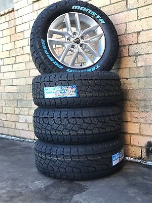 Jeep Laredo Grand Cherokee Wheels And Tyres 18 inch Brand New 265/60/18 Monsta