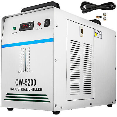 Thermolysis Water Cooled Chiller CO2 Laser Tube CNC spindle Welding CW5200 Top