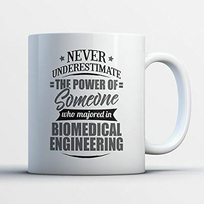 Biomedical Engineering Coffee Mug - Never Underestimate Biomedical Engineering -