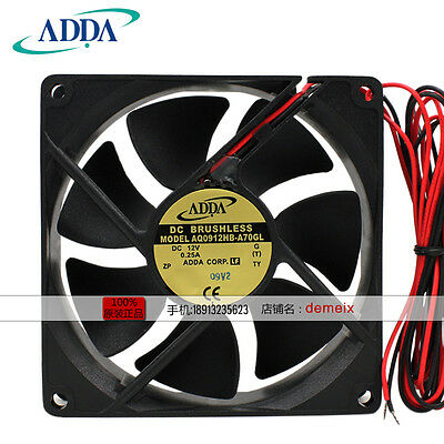 ORIGIANL ADDA AQ0912HB-A70GL DC12V All water proof fan 3months warranty