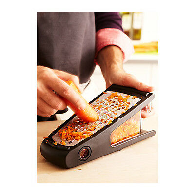 Grater Carrot Cheese Vegs with container draw BRAND NEW IKEA VARDEFULL CARROT