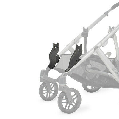 UPPAbaby VISTA 2015 Lower Adapter (For Double-Configuration) (2 Pack)